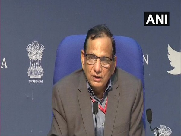 Dr VK Paul, Member (Health), NITI Aayog speaking during press conference in New Delhi on Tuesday. Photo/ANI