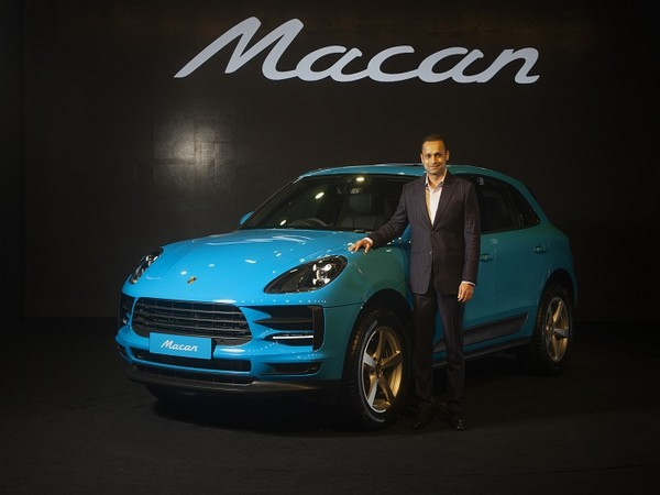Pavan Shetty, Director of Porsche India launches new Macan