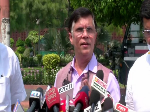 National Spokesperson of Congress Pawan Khera speaking to reporters in New Delhi on Wednesday. Photo/ANI