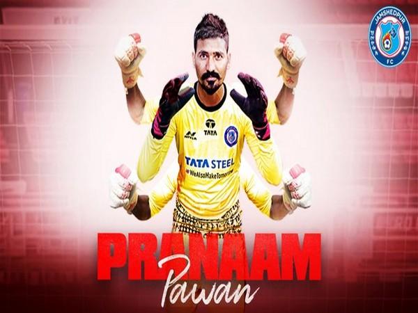 Goalkeeper Pawan Kumar (Photo/Jamshedpur FC Twitter)