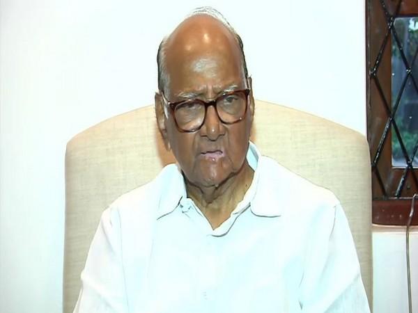 NCP chief Sharad Pawar. (File Photo/ANI)