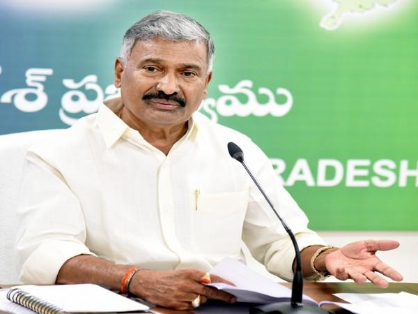 Andhra Pradesh Mining Minister Peddireddy Ramachandra Reddy (File Photo/ANI)