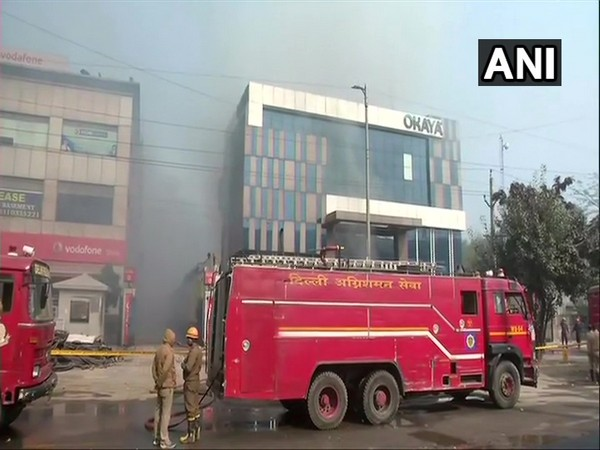Visuals from the factory in Peeragarhi in Delhi where a fire took place.
