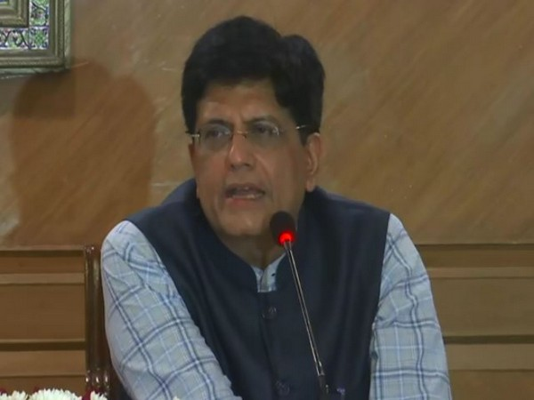 Commerce and Industry Minister Piyush Goyal speaking to reporters in New Delhi on Wednesday. (Photo/ANI)