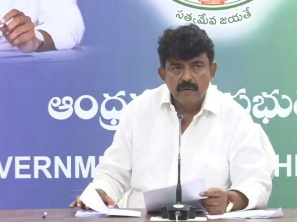 Andhra Pradesh Minister of Information and Public Relations Perni Venkataramaiah (File Photo)