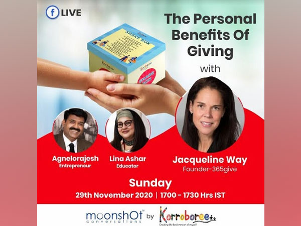Personal Benefits of Giving with Jacqueline Way on Moonshot Conversations