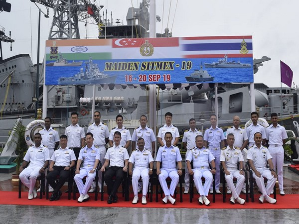 The naval excercise started at Port Blair on Monday. (Photo/PIB)
