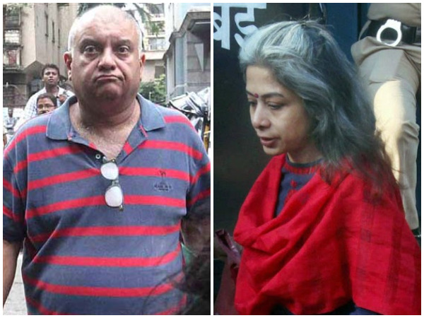 Peter Mukerjea (L) and Indrani Mukerjea (R) (File photo/ANI)