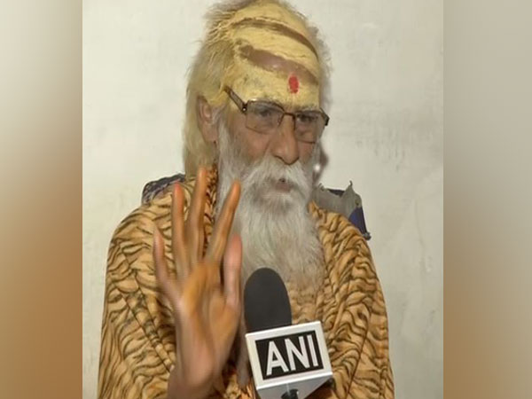 76-year-old Phakkad Baba. Photo/ANI