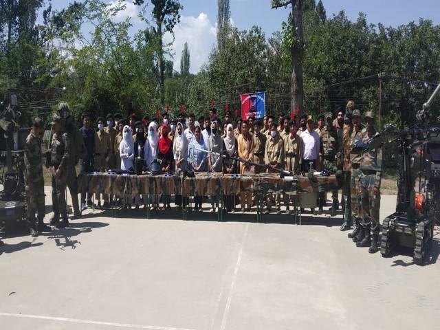 3 J-K NCC Battalion cadets army unit at Pattan