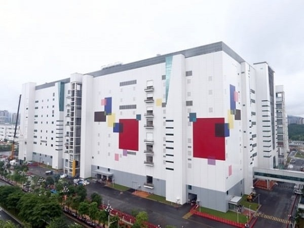 LG Display's 8.5th generation OLED plant in Guangzhou, China.