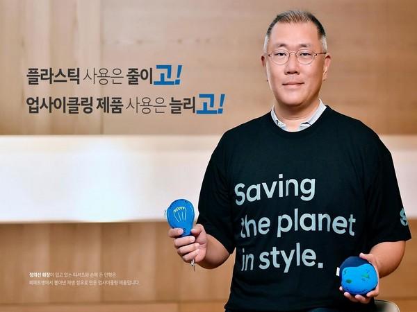 Chung Eui-sun, Chairman of Hyundai Motor Group. Photo=Hyundai Motor Group Facebook page capture, resale and DB storage prohibited