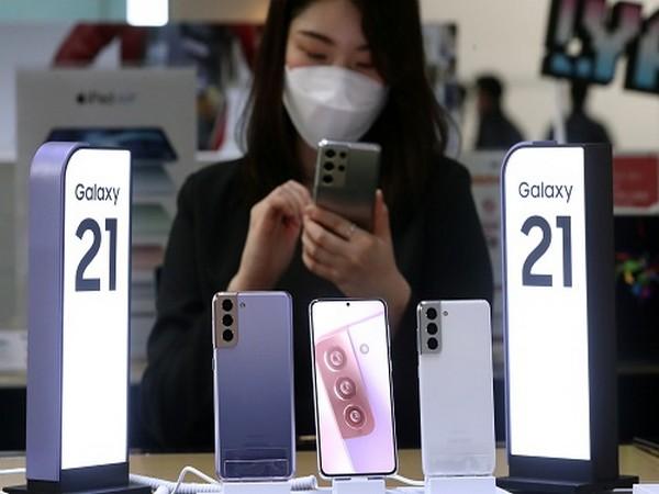 "Samsung Electronics' ""Galaxy S21"". Photo-Newsis"
