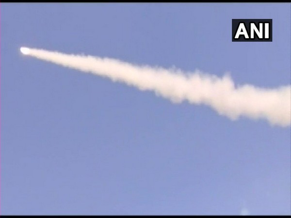 Trial of Pinaka guided missile was successfully carried out in Pokharan on Tuesday. Photo/ANI