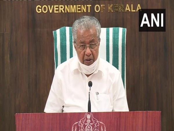 Kerala Chief Minister Pinarayi Vijayan. [File Photo/ANI]