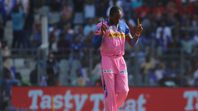 England pacer Jofra Archer (Photo/Rajasthan Royals Twitter)