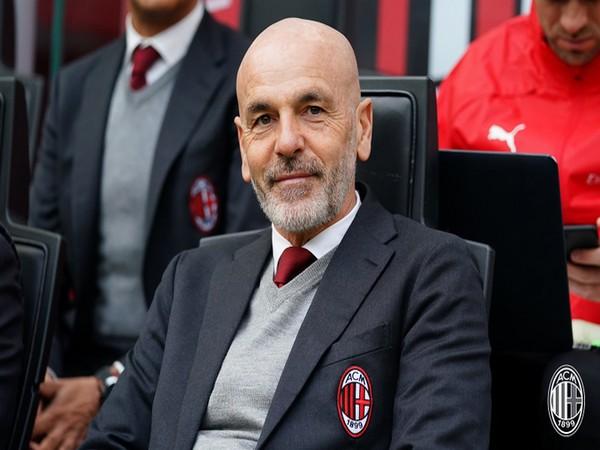 AC Milan head coach Stefano Pioli. (Photo/AC Milan Twitter)