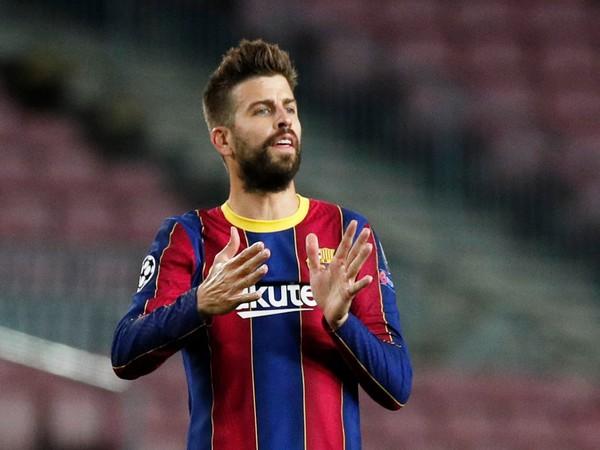 FC Barcelona defender Gerard Pique