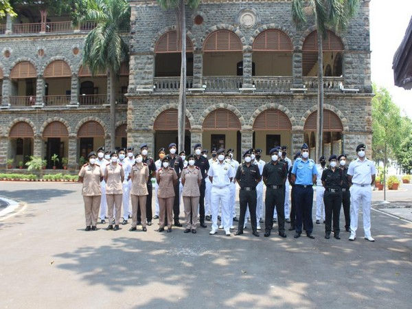 Naval personnel from Western Naval Command (Photo/ANI)