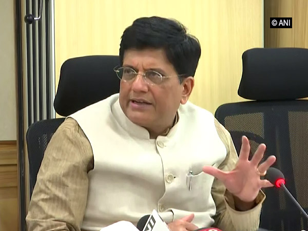 Minister of Commerce and Industry Piyush Goyal addressing media persons in New Delhi on Monday.