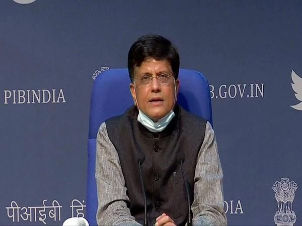 Commerce and Industry Minister Piyush Goyal (File Photo/ANI)