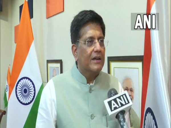 Union Minister for Commerce and Industry Piyush Goyal (Photo/ANI)