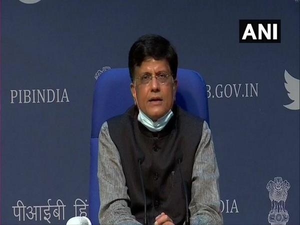 The Union Minister of Railways Piyush Goyal (Photo/ANI)