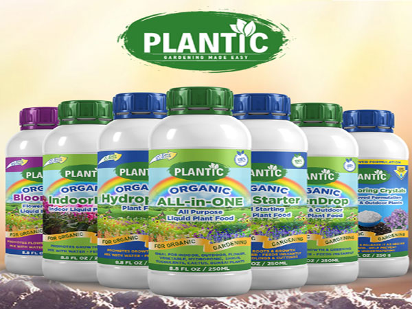 'Gardening Made Easy with Plantic'