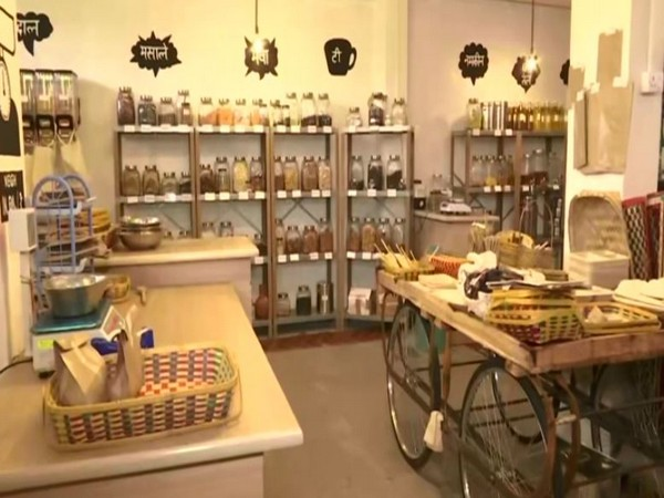 Eco store in Hyderabad promotes usage of products that do not use plastic for manufacturing or packaging.