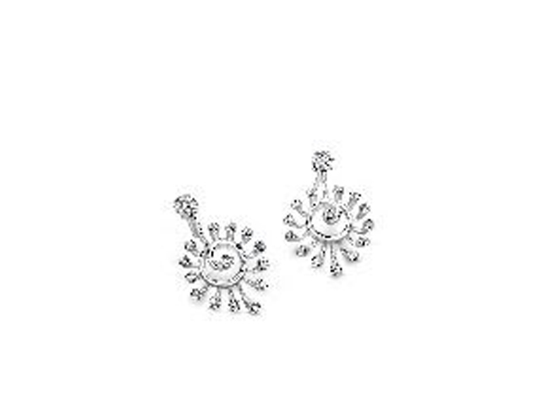Platinum earrings by Platinum Evara