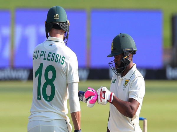 Faf du Plessis and Temba Bavuma (Photo/ CSA Twitter)