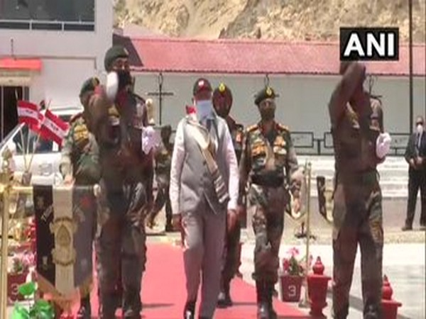 Prime Minister Narendra Modi visited Hall of Fame Museum in Leh on Saturday.