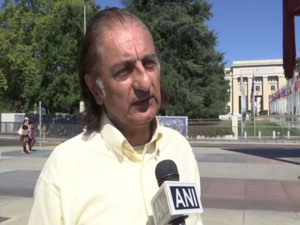 Amjad Ayub Mirza, a political activist from PoK speaking to ANI on Friday.