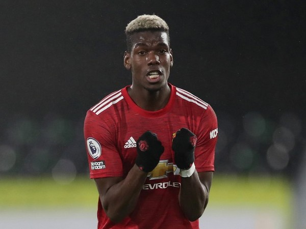 Manchester United midfielder Paul Pogba (file image)