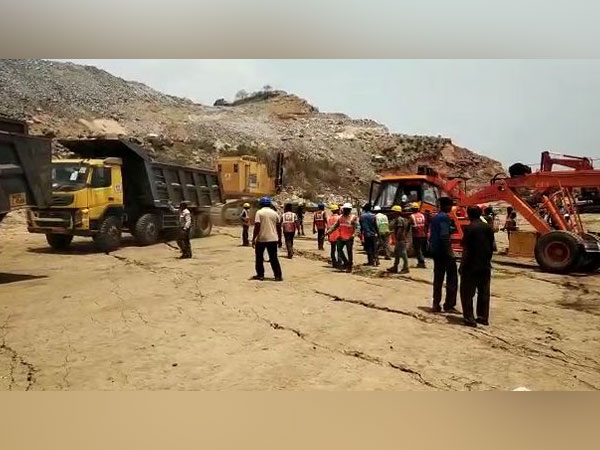 Polavaram project site (File photo)