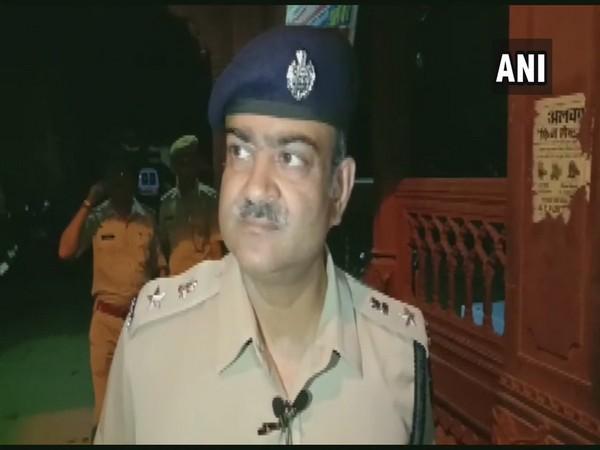 Alwar Superintendent of Police speaking to ANI on Thursday night. (Photo/ANI)