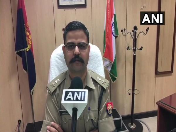 Senior Superintendent of Police Vaibhav Krishna speaking to ANI in Noida on Saturday. (Photo/ANI)