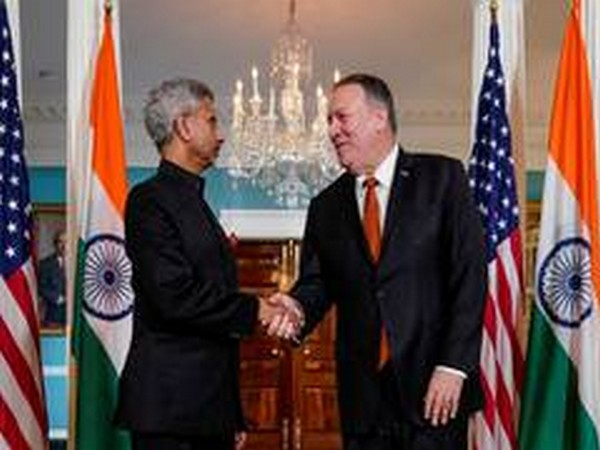 External Affairs Minister S Jaishankar with US Secretary of State Mike Pompeo (File Photo)