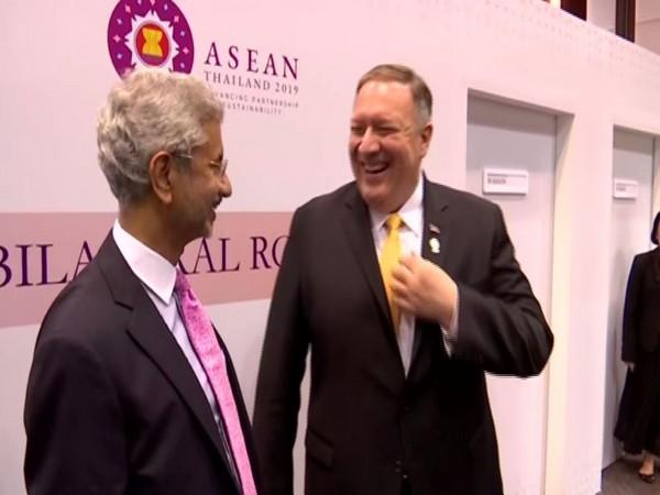 External Affairs Minister S Jaishankar met his US counterpart Micheal Pompeo