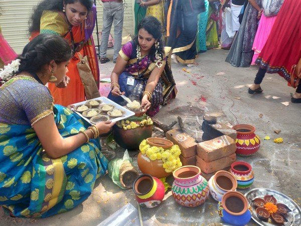 Ahead of vacations, Chennai-based women's college celebrates Pongal with great pomp and show