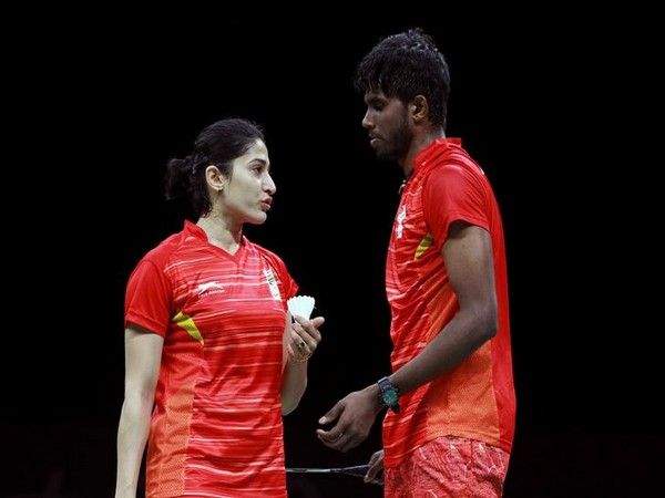 Satwiksairaj Rankireddy and Ashwini Ponnappa (file photo)
