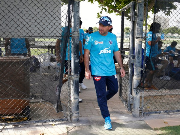 Delhi Capitals head coach Ricky Ponting (Delhi Capitals Twitter)