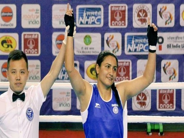 Indian boxer Pooja Rani (Image: Kiren Rijiju Twitter)