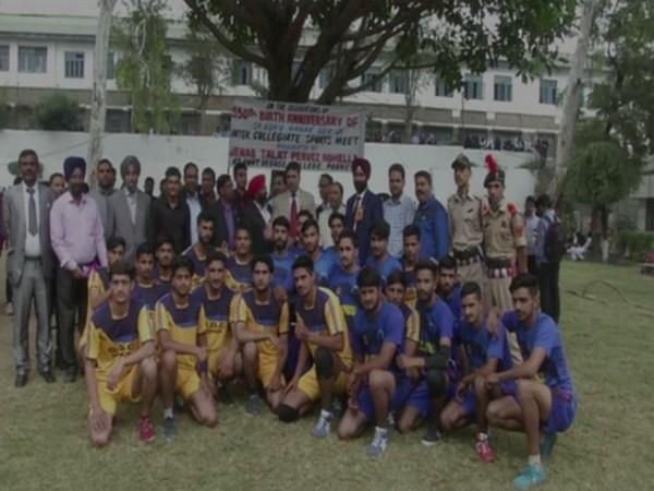 Government Degree College celebrates Guru Nanak Dev's 550th birth anniversary in Poonch, Jammu and Kashmir.