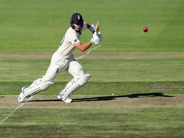 England batsman Ollie Pope while playing a shot on day one of third Test against South Africa.