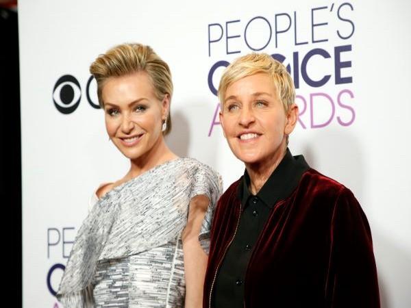 Portia de Rossi, and Ellen DeGeneres