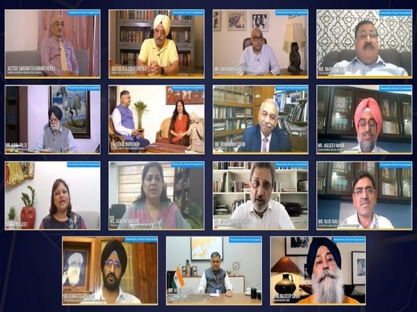 Glimpses of the webinar hosted by Post Graduate Government College, Chandigarh Alumni Association