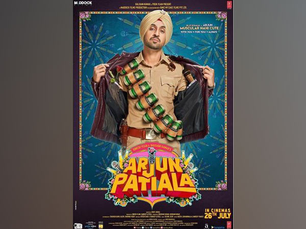 'Arjun Patiala' poster (Image Courtesy: Instagram)