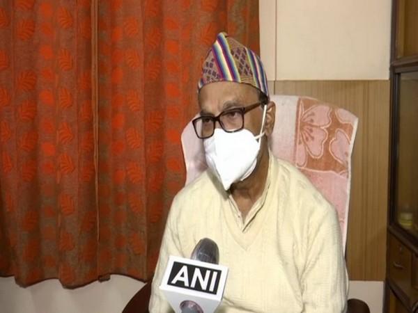 Rajya Sabha MP Pradip Bhattacharya [Photo/ANI]
