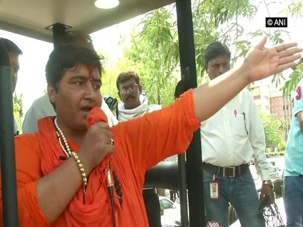 BJP's Bhopal candidate Sadhvi Pragya Singh Thakur (File Picture)